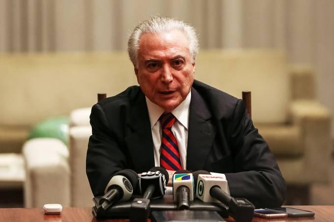 Temer anuncia intervenção federal em Roraima