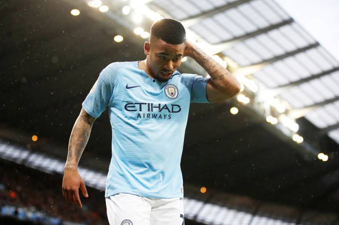 Manchester City x Crystal Palace – Gabriel Jesus