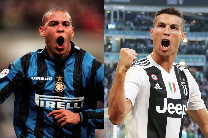 Ronaldo e Cristiano Ronaldo