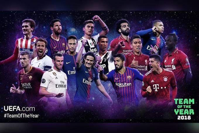 Time do ano UEFA