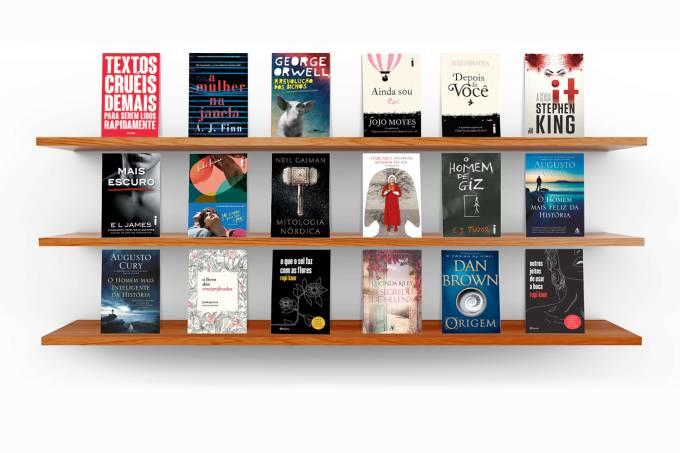 Livros mais vendidos de 2018 – Ficção