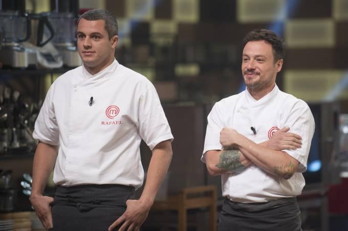 Rafael e Willian se enfrentam na final do 'MasterChef Profissionais' 2018