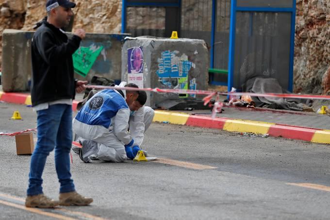 Ataque a tiros em West Bank