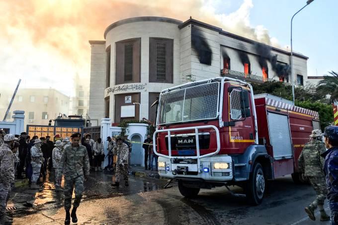 Ataque ao Ministério das Relações Exteriores da Líbia