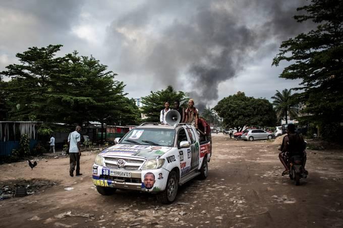 Incêndio no Congo