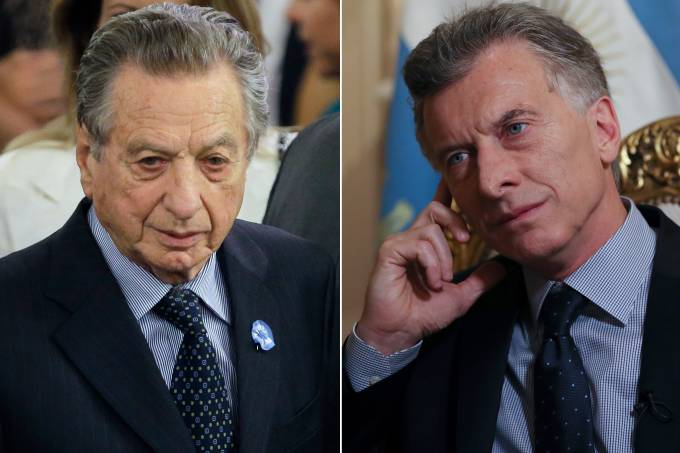 Franco Macri e Mauricio Macri