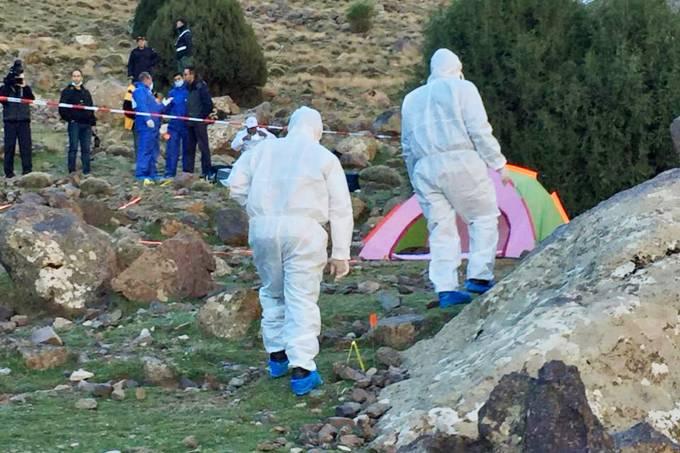 Norueguesa e dinamarquesa mortas no Marrocos