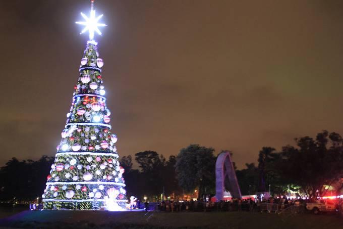 Preparativos para o Natal – São Paulo