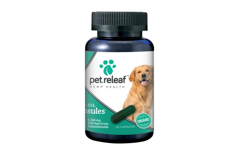 PET RELEAF Cápsulas de vitalização para cachorros