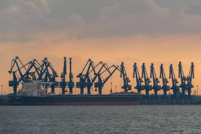 Porto de Tianjin