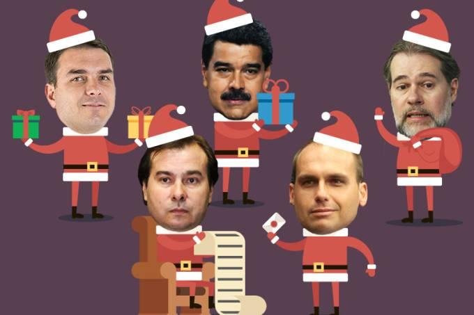 Presentes para Bolsonaro