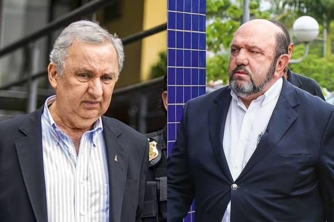 AINDA NÃO - Bumlai (à esq.) e Ricardo Pessoa (UTC): eles seriam beneficiados pelo indulto de 2017, mas não pelo atual