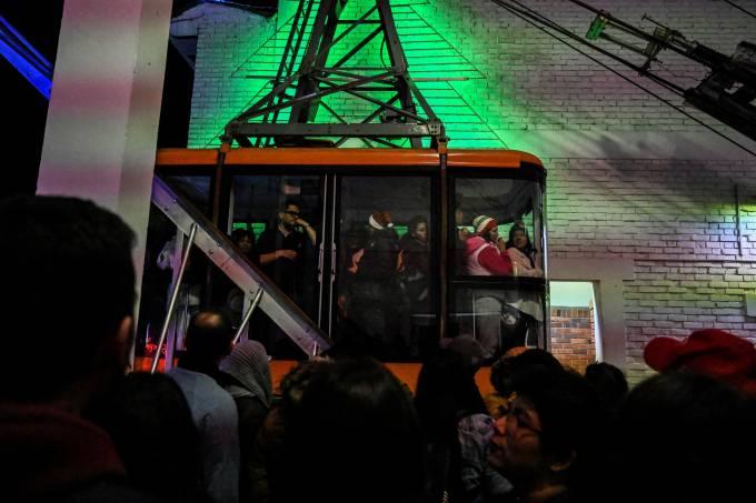 Acidente no teleférico Monserrate, em Bogotá