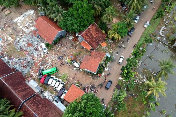 Tsunami na Indonésia