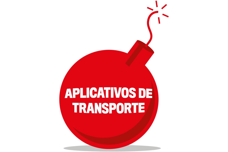 Aplicativos de transporte