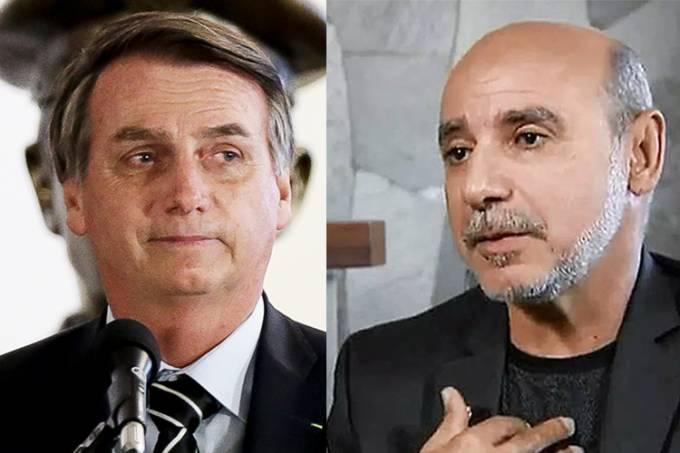 Jair Bolsonaro e Fabricio Queiroz