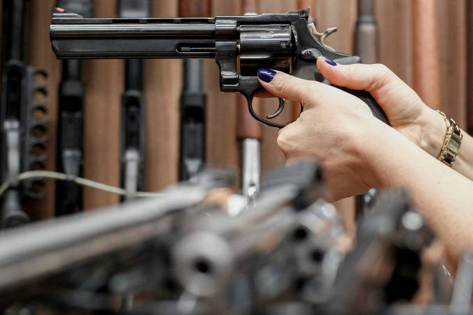 Porte de armas – Estande de tiro
