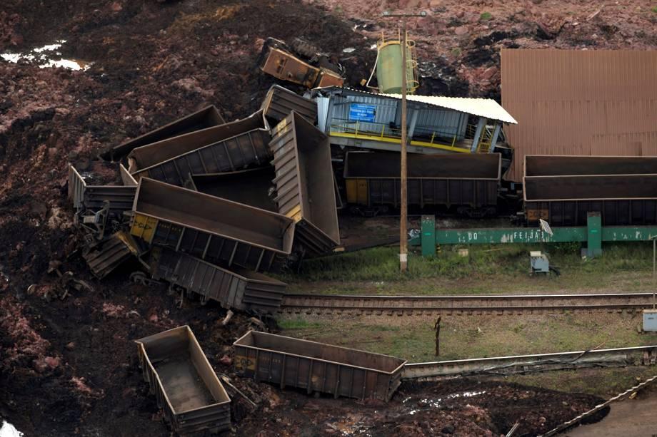 Área atingida por rompimento de barragem da mineradora Vale em Brumadinho, na Grande Belo Horizonte - 25/01/2019