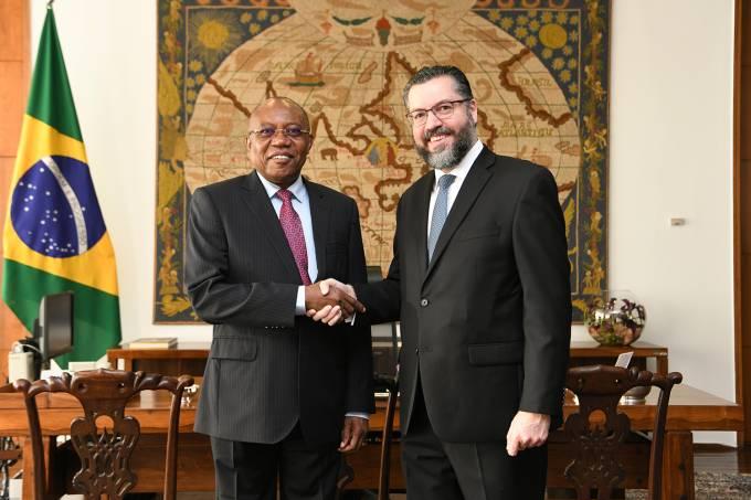 Ernesto Araújo e Manuel Domingos Augusto