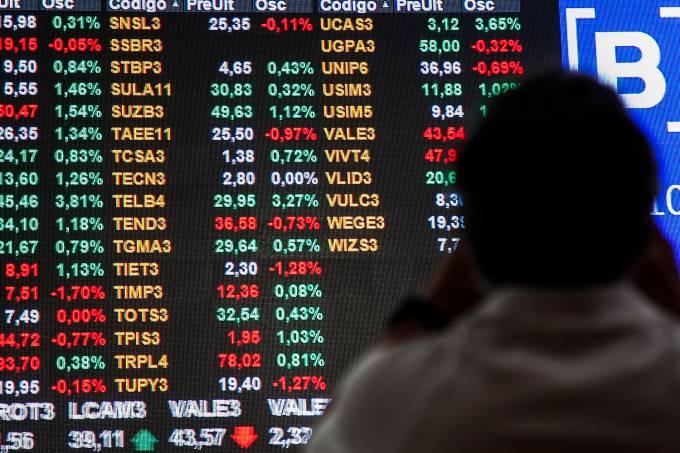 Economia – Bolsa de Valores – B3 – Cotação