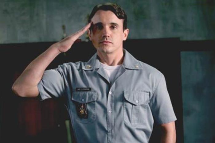 Caio Junqueira em cena do filme 'Tropa de Elite'