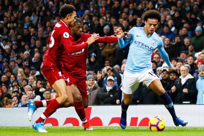 Campeonato Inglês – Manchester City x Liverpool