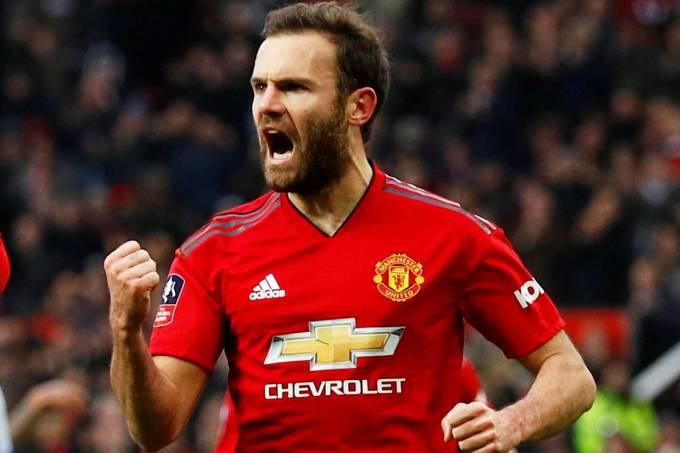 Copa da Inglaterra – Manchester United x Reading – Juan Mata