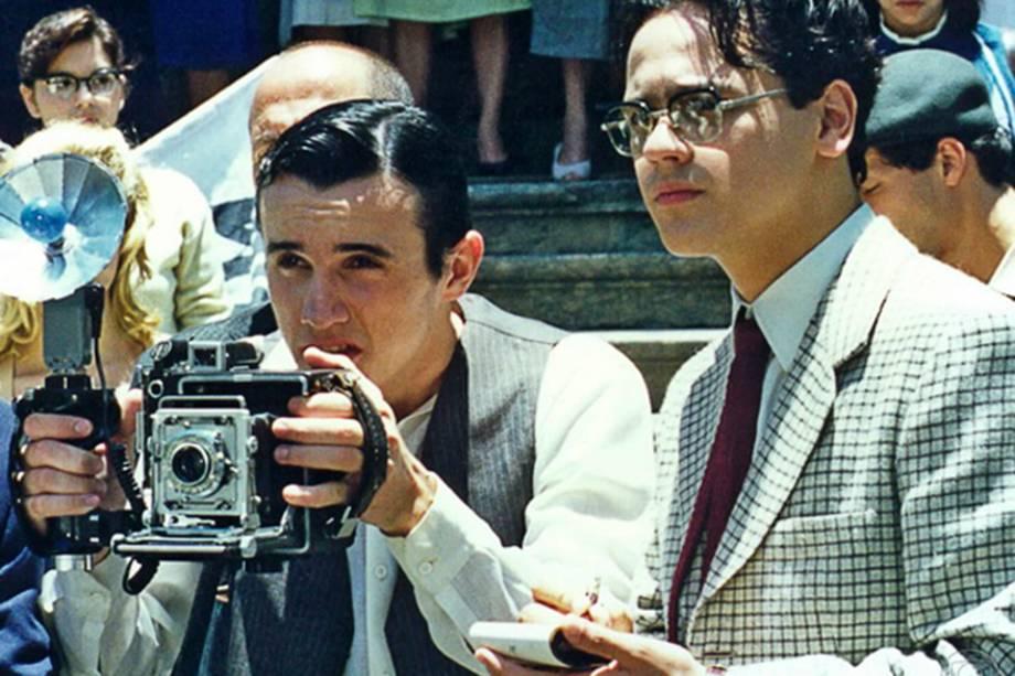 Caio Junqueira e Danton Mello na minisséria 'Hilda Furacão' da Globo exibida em 1998