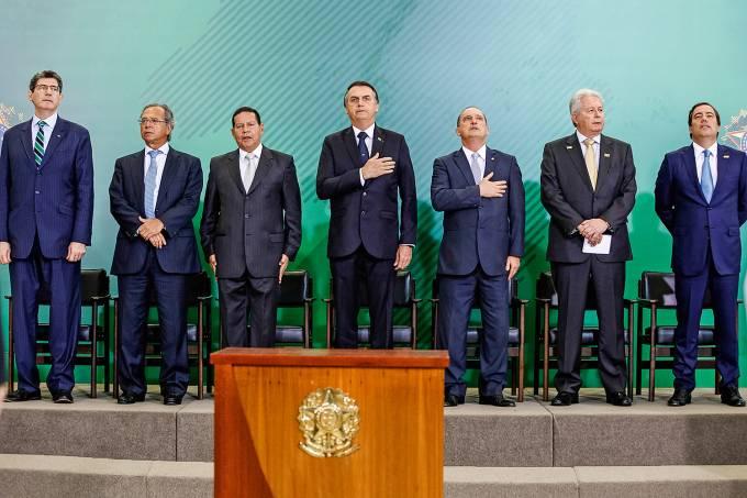 Cerimônia de posse dos Presidentes do Banco do Brasil