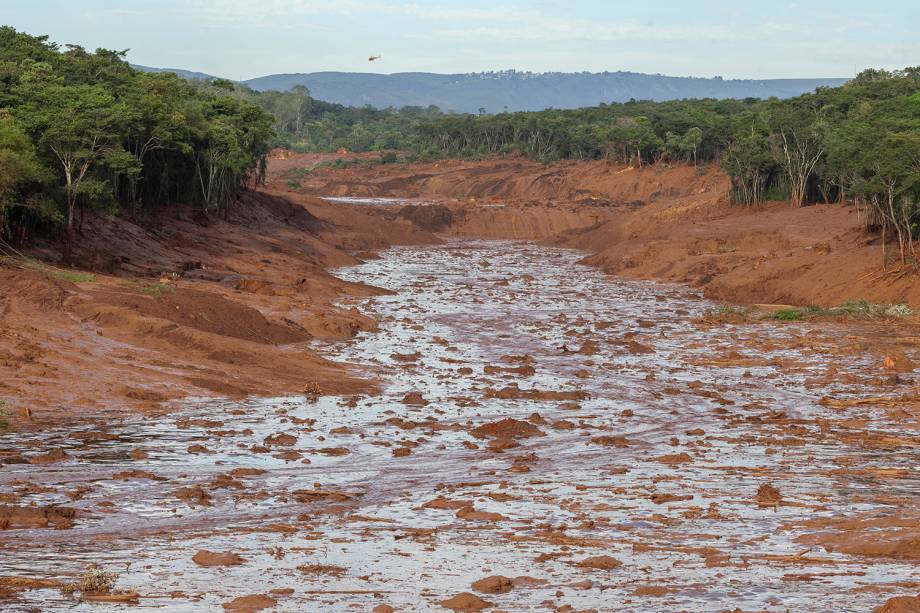 Rompimento de barragem da mineradora Vale em Brumadinho, na Grande Belo Horizonte - 25/01/2019
