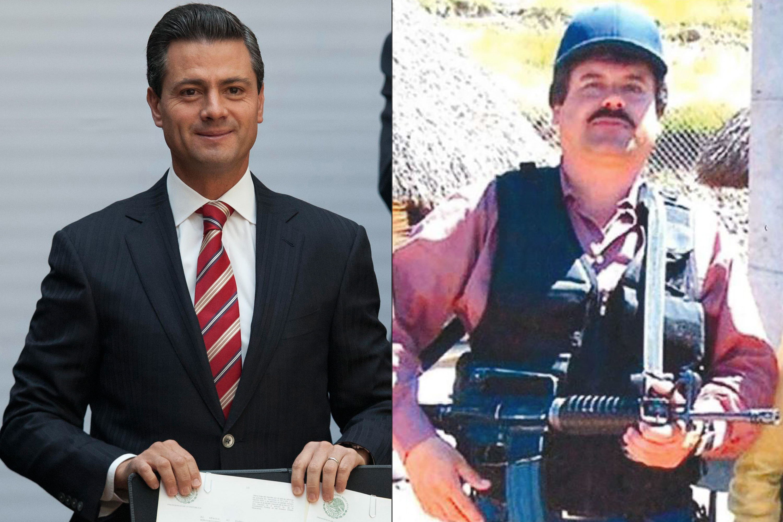 Peña Nieto é acusado de receber propina do traficante El Chapo