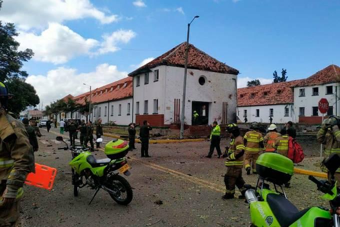 Explosão em Bogotá