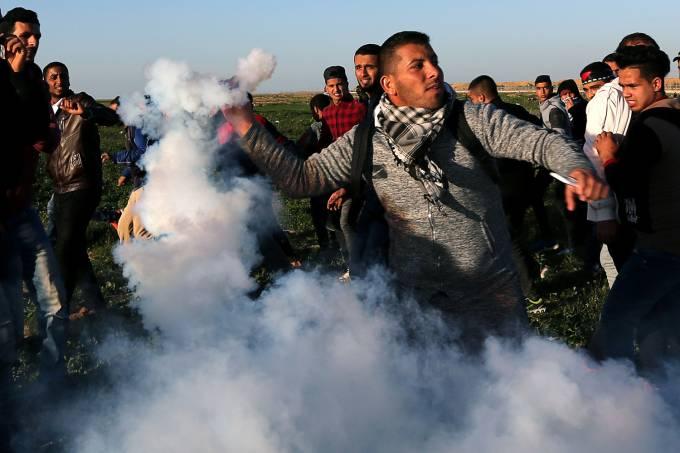 Confronto na Faixa de Gaza