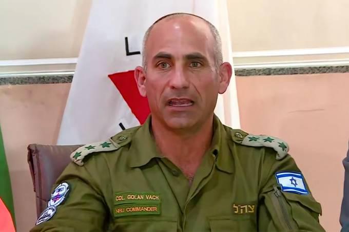 Coronel Golan Vach
