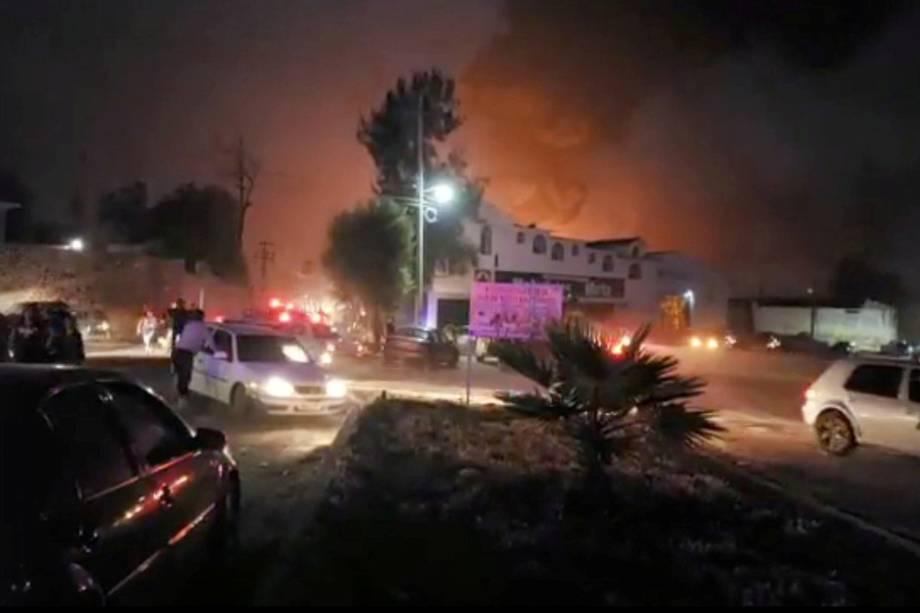 Explosão de oleoduto deixa dezenas de mortos e feridos em Tlahuelilpan, cidade localizada no estado mexicano de Hidalgo - 18/01/2019