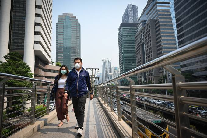 Poluição na Tailândia