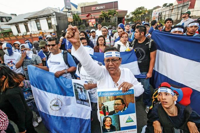 Protestos Nicaraguenses