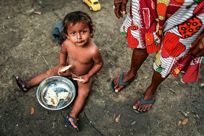 Refugiados venezuelanos em Manaus