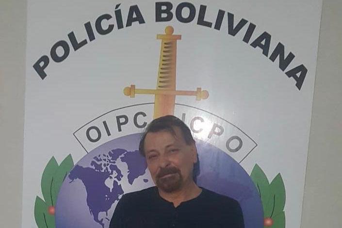 Italiano Cesare Battisti é preso na Bolívia  - 13/01/2019