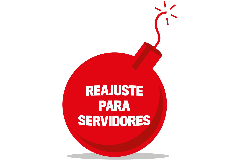 Reajuste para servidores
