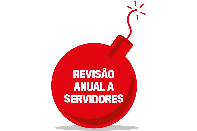 Revisão anual a servidores