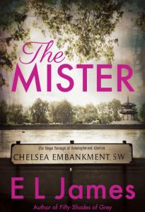 Capa do livro 'The Mister', de E. L. James