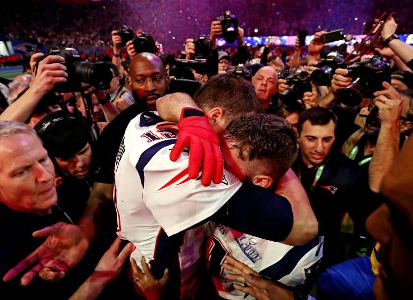 O New England Patriots venceu o Los Angeles Rams por 13 a 3 no Super Bowl LIII