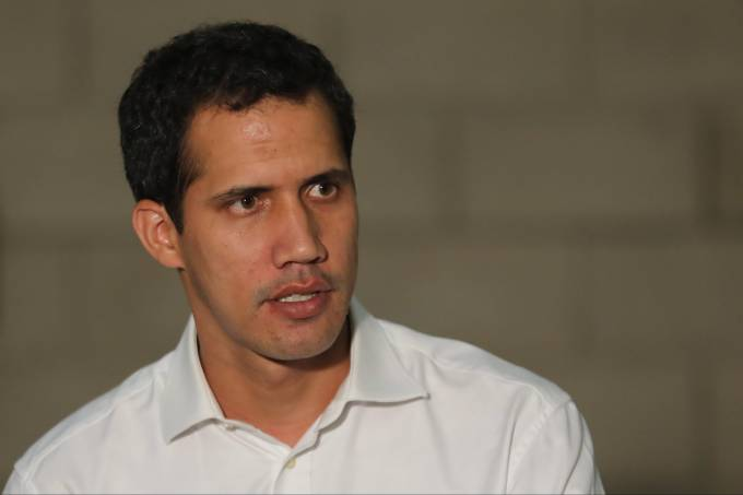 Venezuelan opposition leader Juan Guaido
