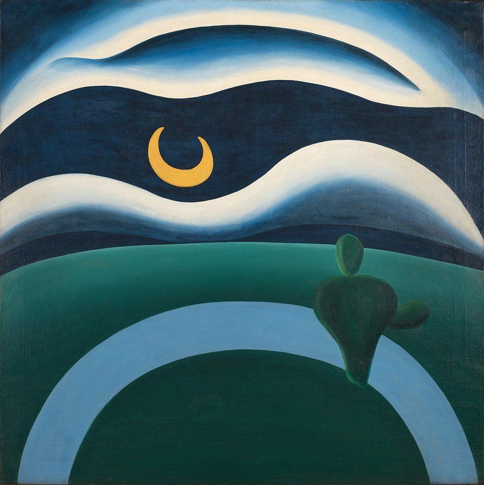 'A Lua', de Tarsila do Amaral