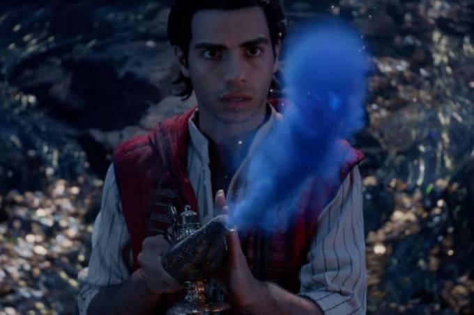Aladdin em novo vídeo divulgado pela Disney