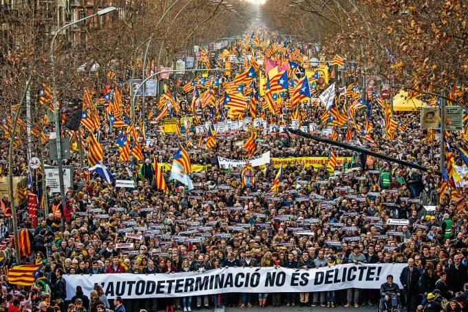 Protesto Espanha