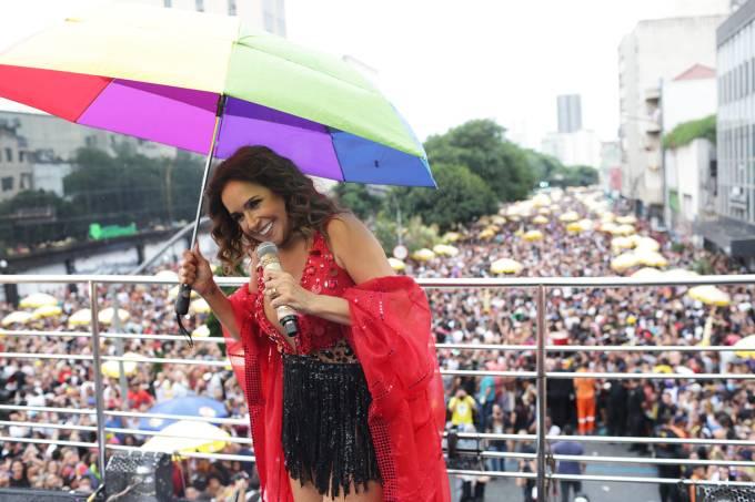 Bloco Pipoca da Rainha – Chuva – Daniela Mercury