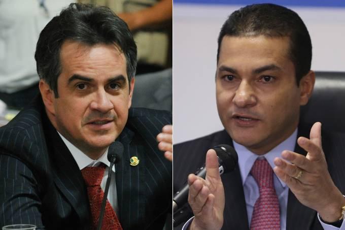Ciro Nogueira e o deputado Marcos Pereira
