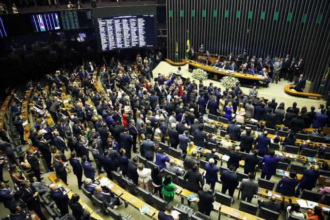 Sessão de votação para presidente da Câmara dos Deputados